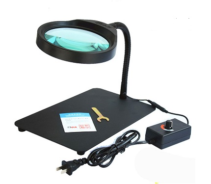 ESD LED Desk Type Magnifying Lamp SP-MAG32C-1