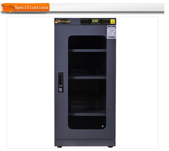 Antistatic Black Dry Cabinet C2E-157 Dryzone or Dr.storage brand