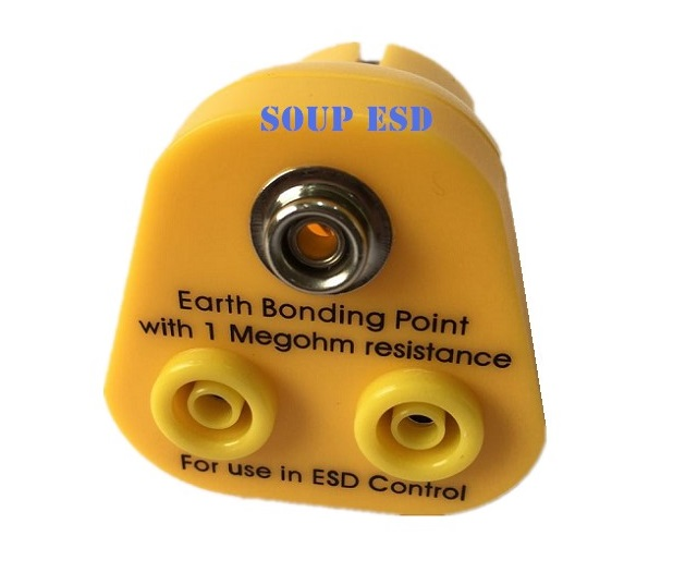 Eu type Earth Bonding Point with 1 megohm resistance SP-GRO13