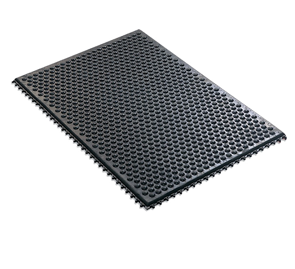 Black Anti-fatigue Floor Mat with round ball  SP-MAT960