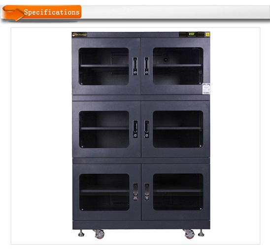 Baking 40 degree.C Low humidity Dry Cabinet E40C-1490-6